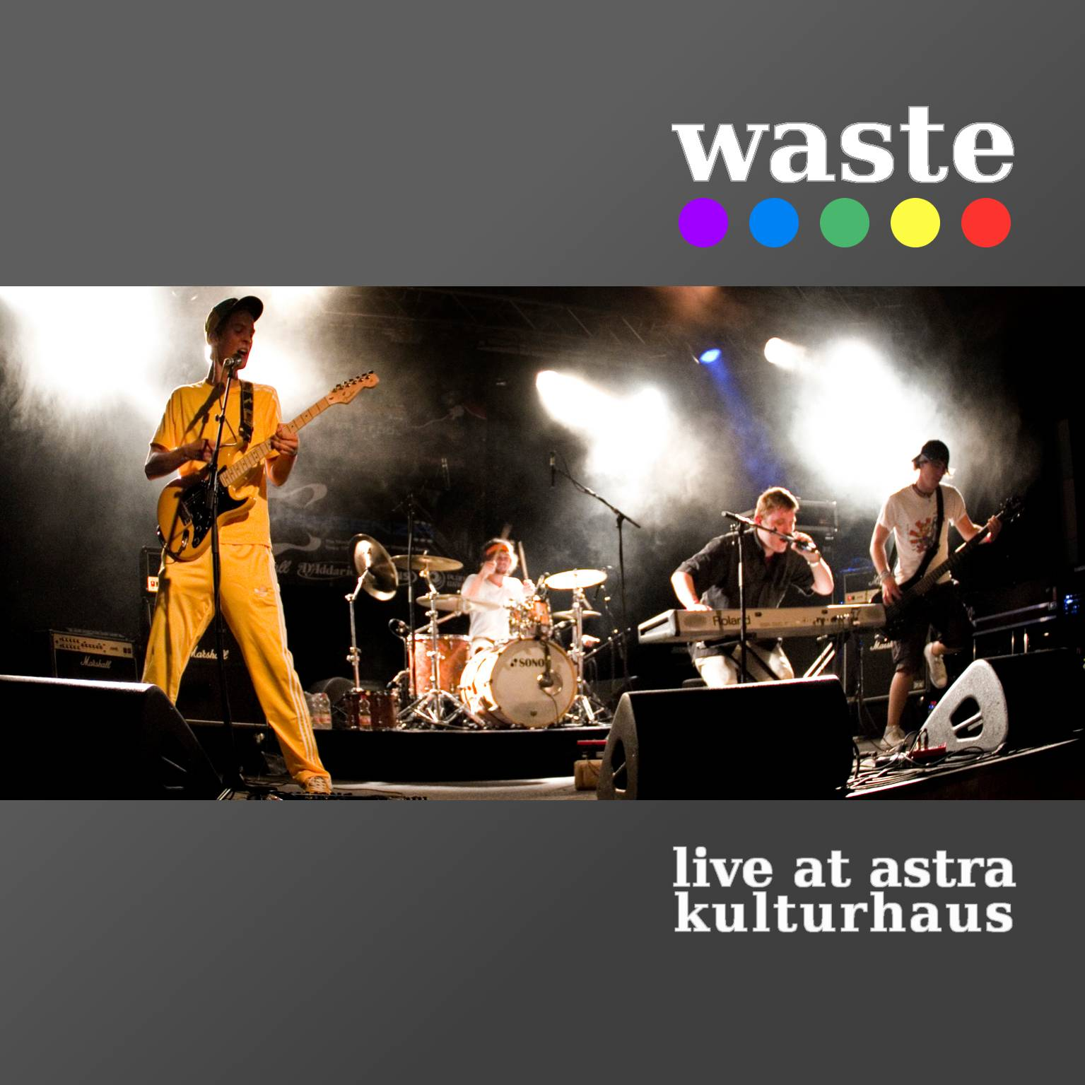 Waste Live-EP Cover